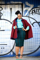 vintage cape - Primark sandals - Ebay skirt - vintage blouse