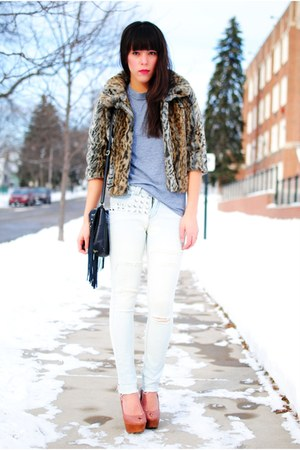 coat - jeans - shoes