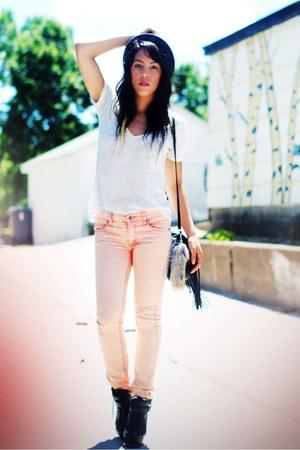 Steve Madden shoes - Cheap Monday jeans - BDG t-shirt