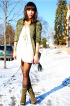 ClubCouturecc dress - Steve Madden boots - jacket