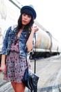 Forever-21-dress-thrifted-jacket-h-m-bag