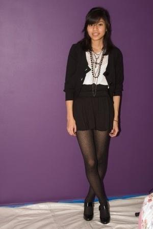sweater - skirt - blouse