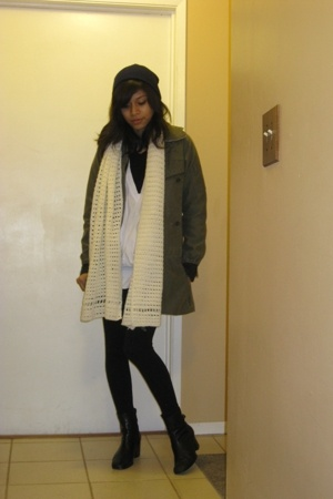 jacket - top - boots