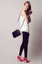 inset skirt Yesstyle leggings - black two-tone Marc by Marc Jacobs bag