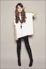 Black-forever-21-boots-black-forever-21-leggings-ivory-forever-21-sweater-