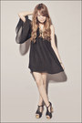 Black-topshop-dress-black-topshop-skirt-black-jeffrey-campbell-heels-gold-