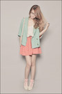 Ivory-asian-vogue-shoes-aquamarine-migliore-korea-blazer-light-pink-zara-bag