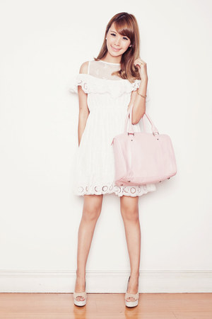 The Belle Soeurs bag - Chicwish dress - sugarfree shoes heels