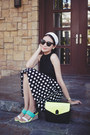 Green-le-bunny-bleu-shoes-lime-green-bagfull-bag-black-cropped-bershka-top