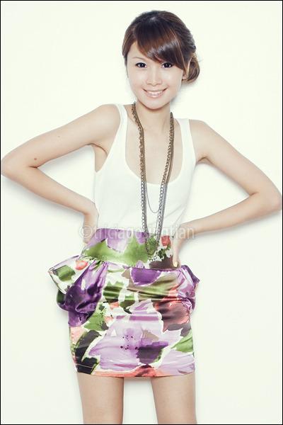 gold Girlshoppe necklace - black Aldo shoes - purple Poisonberry skirt