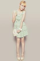 ivory RP Online Shop bag - aquamarine clothes for the goddess dress