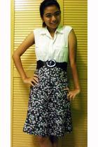 NN shirt - NN belt - tanah abang skirt