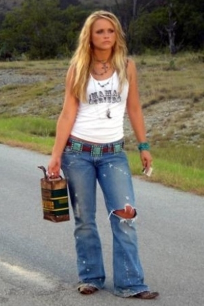 Junk Gypsy Co top - abercrombie and fitch jeans - Nocona belt - Sam Moon bracele