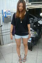 H&M top - shorts - Dorathy shoes