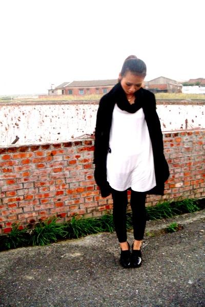 black Armani Exchange coat