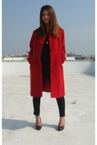red comme ca du mode coat