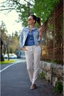 Blue-pepe-jeans-shirt-light-yellow-furla-bag-white-zara-pants
