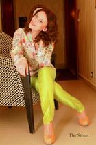 Zara shirt - Mango pants - Pour La Victoire pumps