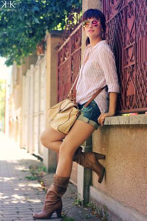 Zara shirt - Stradivarius shorts