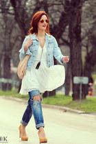 asos dress - Zara jeans