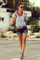 Joop shirt - Stradivarius shorts
