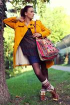 Wrangler skirt - Zara blouse