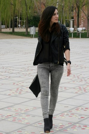 Zara pants - Lefties boots - Zara blouse