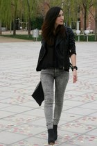 Zara pants - Lefties boots - Zara blouse