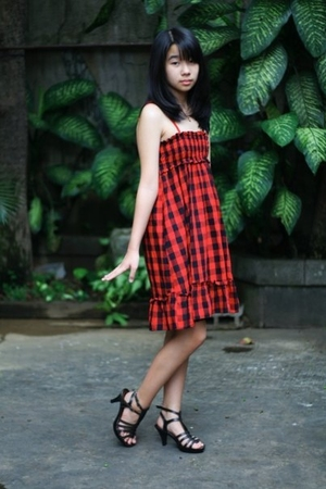 Zara dress - stella luna shoes