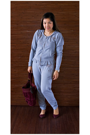 Juicy Couture suit - Gap flats