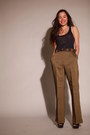 Bronze-high-waisted-cerruti-pants-zara-sandals-leather-vintage-belt-zara-t