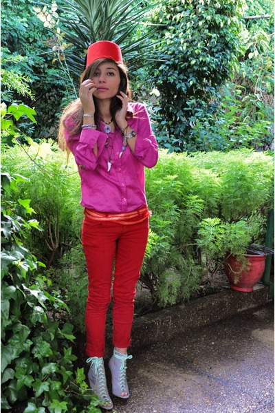 Red And Pink Shirt | Is Shirt