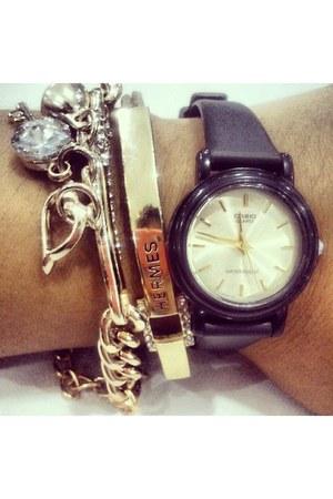 Hermes bracelet - casio watch