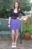 American Apparel dress - forever 21 skirt - Chinese Laundry shoes