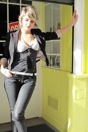 black Ikks jeans - black Pimkie jacket