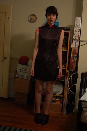 thrifted qipao dress