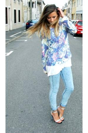 Zara jeans - Zara sweater