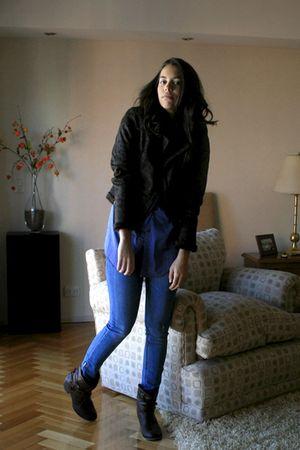SilenceNoise jeans - Forever 21 jacket