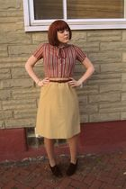 vintage dress - vintage belt - chinese laundry deastock shoes
