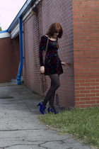 Poetic License shoes - Betsey jonson dress - modcloth tights - monsurat di lucca