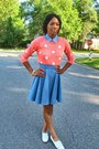 Denim-thrifted-shirt-forever-21-sweater-denim-custom-made-skirt