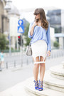 Sky-blue-silk-zara-shirt-periwinkle-leather-michael-kors-bag