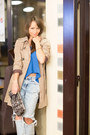Camel-zara-coat-light-blue-zara-jeans-dark-brown-zippers-aldo-bag