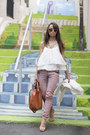 Pink-bsb-jeans-tawny-leather-zara-bag-neutral-nude-ray-ban-sunglasses