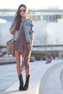 Threadsence-dress-denim-h-m-jacket