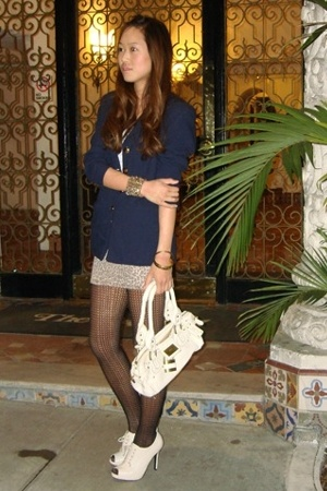 vintage blazer - moms skirt