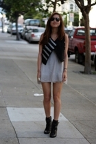 Go International vest - dress - Steve Madden boots