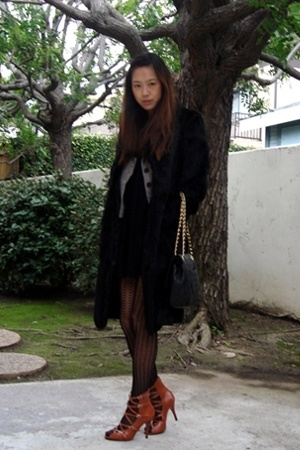 coat - blazer - dress - shoes