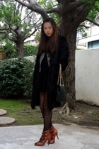 coat - blazer - dress - shoes