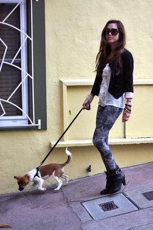 Walking Charcoal
